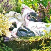 Травяные подушки, мешочки