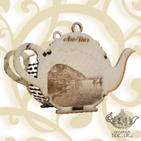 Чай Сувенирный Чайник (дерево) Аю-Даг, Бальзам Здоровья, 70 гр.
