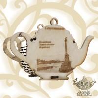 Чай Сувенирный Чайник (дерево) Севастополь, Крепкий сон, 70 гр.