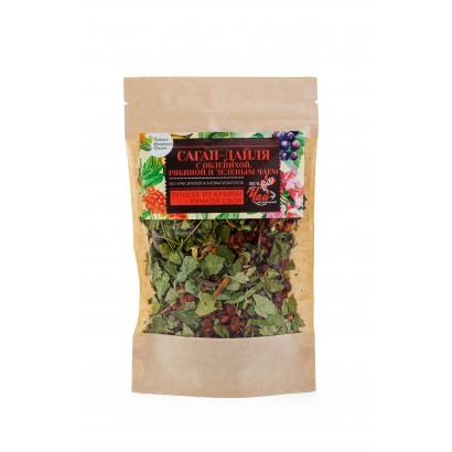 Чай зеленый с облепихой и рябиной Саган-Дайля, 50г