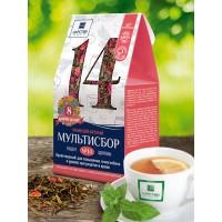 Травяной мультисбор №14 Кроветворный, для повышения гемоглобина и уровня эритроцитов в крови , 80 г