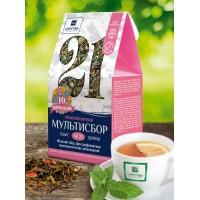 Травяной мультисбор №21  Женский сбор для профилактики гинекологических заболеваний, 80 г