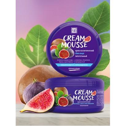 Крем косметический Cream Mousse для ухода за кожей лица, шеи,и зоны декольте питательный, 220г.
