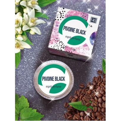 Твердые духи эспри Pivoine black (по мотивам YSL-Black Opium). 5 г