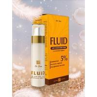 Гель-флюид для сухой кожи, увлажняющий эффект, 30г