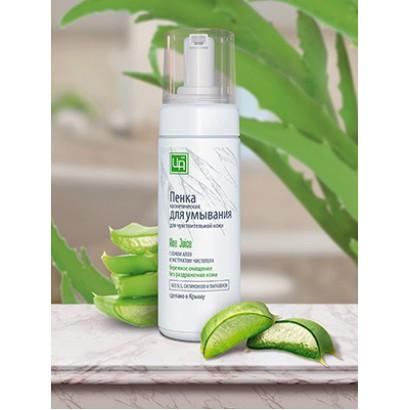 Пенка косметическая для умывания Aloe Juice для чувствительной кожи, 160 мл