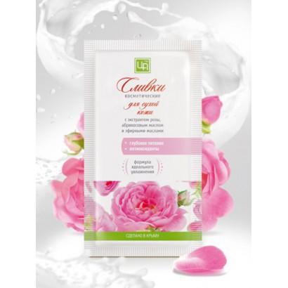 Сливки косметические «Долина Роз» для сухой и зрелой кожи 5г