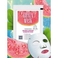 Маска тканевая для лица Guava mask для кожи с куперозом (сосудистой сеткой), ЦА