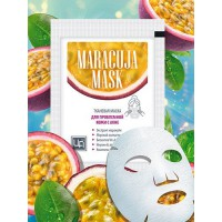 Маска тканевая для лица Maracuja mask для проблемной кожи, ЦА