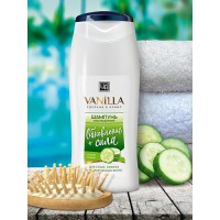 Шампунь «VANILLA» для сухих, ломких и поврежденных волос, с огуречным соком, 250 г