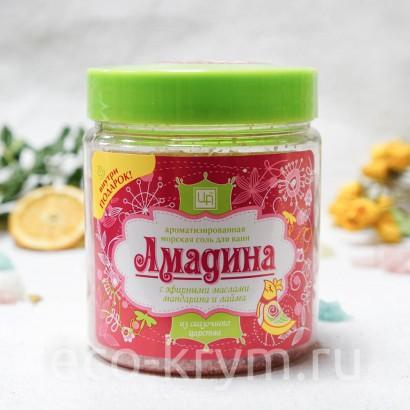 Соль крымская морская ароматизированная «Амадина» 500г