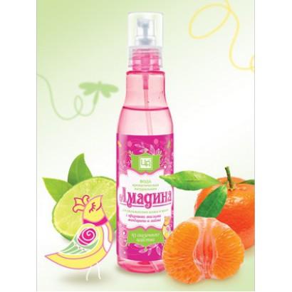 Ароматическая вода «Амадина» для кожи и волос, 200мл