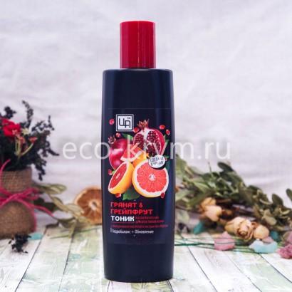 Тоник Гранат&Грейпфрут  для всех типов кожи, 250г