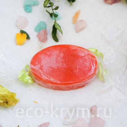 Мыло натуральное туалетное твердое «Апельсин», 85 г