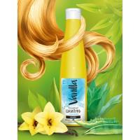 Шампунь «VANILLA» для волос, жирных у корней и сухих на концах, с соком агавы,  350 г
