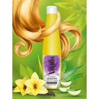 Шампунь «VANILLA» для всех типов волос, с соком алоэ и каланхоэ, 350 г