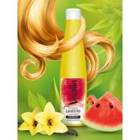Шампунь «VANILLA» для всех типов волос, с соком арбуза, 350 г