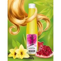 Шампунь «VANILLA» для ламинированных и окрашенных волос, с соком граната, 350 г