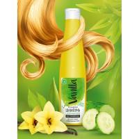 Шампунь «VANILLA» для сухих, ломких и поврежденных волос, с огуречным соком, 350 г