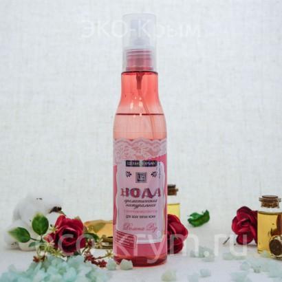 Ароматическая вода «Долина Роз» для всех типов кожи, посеребренная 200мл