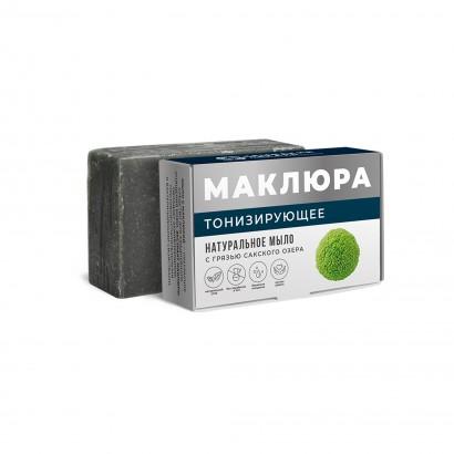 Мыло крымское с грязью Сакского озера ТОНИЗИРУЮЩЕЕ, 100г