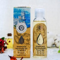 Масло крымское натуральное миндальное с экстрактом крымской розы, 100мл