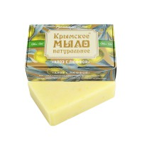 Мыло крымское натуральное «АЛОЭ С ЛЮФФОЙ» 100г МДП