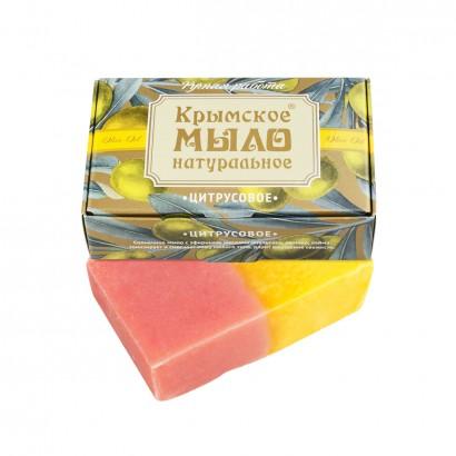 Мыло крымское натуральное «ЦИТРУСОВОЕ»