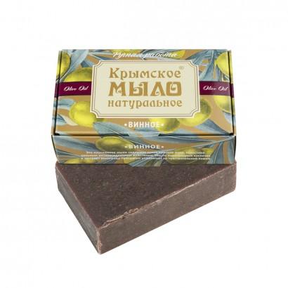 Мыло крымское натуральное «ВИННОЕ» 100г МДП
