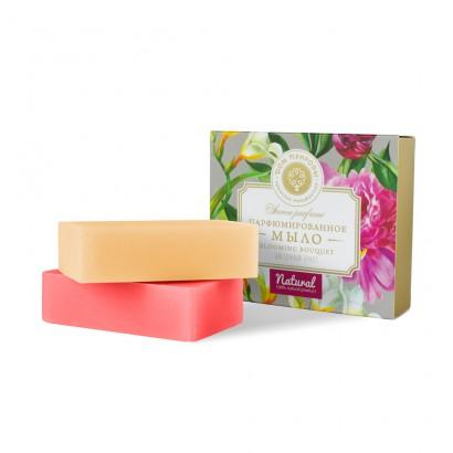 Набор мыла Цветочный букет (Розовый Пион+Белая Фрезия), 200г