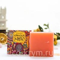 Мыло крымское натуральное Восточное «Ароматная роза», 100 г
