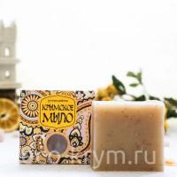 Мыло крымское натуральное Восточное «Сливочная овсянка», 100 г