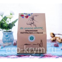 Набор подарочный на козьем молоке №1 (Дамаский шелк, Флер, Алоэ вера)