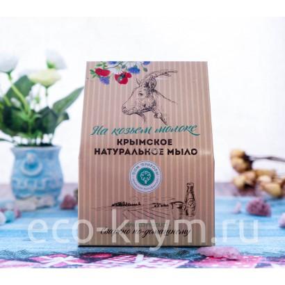 Набор подарочный на козьем молоке №2 (Сливочный мусс, Мускатная долина, Молочный шоколад)