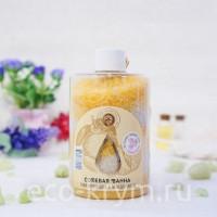 Соль для ванн «Тонизирующая» с мандарином, 400г