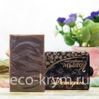 Мыло крымское натуральное «ДЕГТЯРНОЕ», 75 г КНК