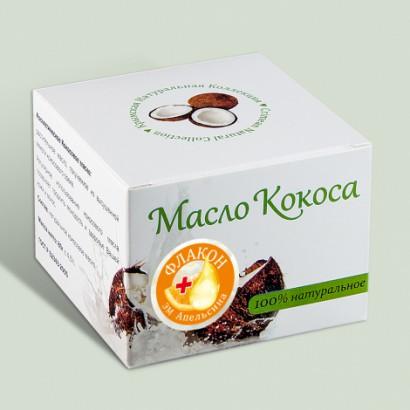Масло косметическое Кокос+ ЭМ Апельсин, 80 г КК