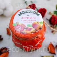 Варенье из абрикоса с миндальными орехами, 300г