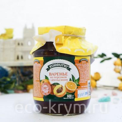 Варенье из персиков с апельсином 600 г
