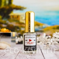 Духи масляные тип запаха Play - Givenchy, жен  КМ