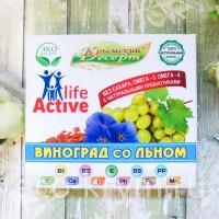 Крымский Десерт ВИНОГРАД со ЛЬНОМ, 75 г.