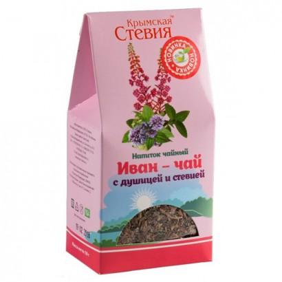 Фиточай Иван-чай с листом душицы и стевией, 50гр