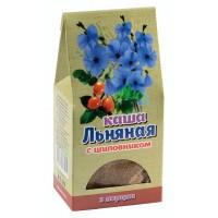 Каша льняная с плодами шиповника, 100г