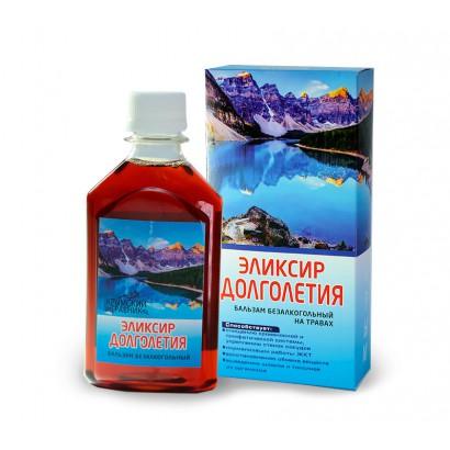 Бальзам безалкогольный ЭЛИКСИР ДОЛГОЛЕТИЯ, 250мл