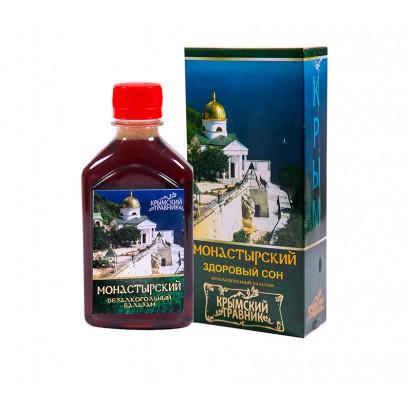Бальзам безалкогольный МОНАСТЫРСКИЙ (здоровый сон), 250мл