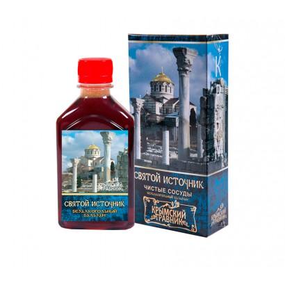 Бальзам безалкогольный СВЯТОЙ ИСТОЧНИК (чистые сосуды), 250мл
