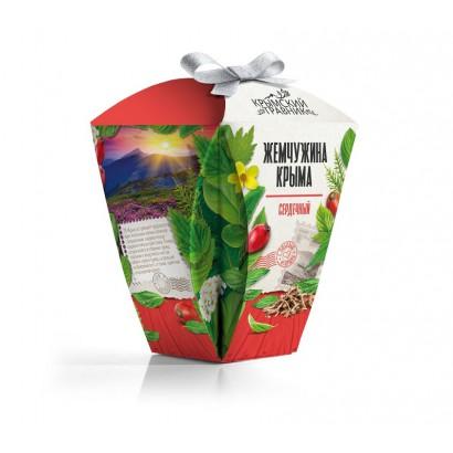 Чай ЖЕМЧУЖИНА КРЫМА (сердечный), 50 гр