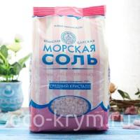 Соль розовая пищевая, средний помол, 1кг.
