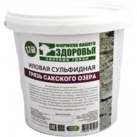 Грязь иловая сульфидная Сакского озера, ведро (1,7кг)