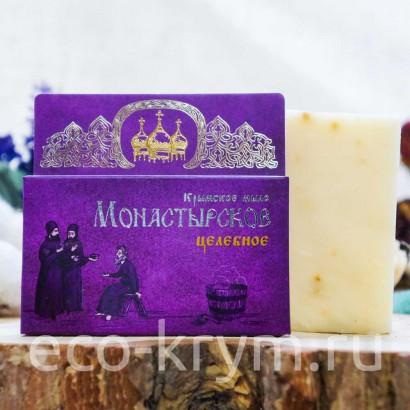 Мыло крымское натуральное «Монастырское Целебное», 80 г